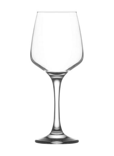 Lav Lal558 Ayaklı Kadeh - Su Bardak - Ayaklı Su Bardağı 6Lı Renkli